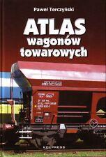 Book - Atlas Polish Poland Railway Goods Wagons - Guterwagen Wagonow Towarowych