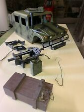"""AXIAL,SCALE, CRAWLER Carrosserie """" HUMVEE H1 1/6 """""""