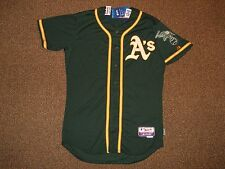 Oakland Athletics Green Cool Base Authentic Jersey sz 44 Majestic New w/ tags