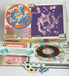 TOP OF THE POPS. VINTAGE 1970s BOARD GAME BY PALITOY / PARKER GAMES. COMPLETE.