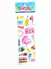 1Pc Classic Musical Kindergarten Teacher Reward Removable Stickers Kid Xmas A1