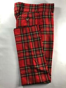 Mens Tartan Trews Various Tartans Brand New Made In Scotland