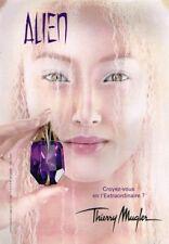 B- Publicité Advertising 2008 Le Nouveau Parfum Alien par Thierry Mugler