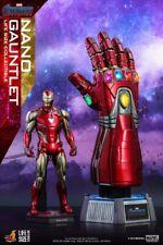 "Hot Toys LMS007 1/1 Avengers Endgame Iron Man Nano Infinity Gauntlet 20"" Figures"