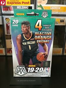 2019-2020 PANINI NBA MOSAIC HANGER BOX BASKETBALL CARDS - JA? ZION? NEW SEALED