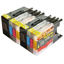 8x TINTE DRUCKER Patronen Drucker für Brother MFC-J5910DW LC 1280 XXL SPARPAKET