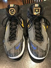 new concept 4dea0 85fef Mens Nike Anthony Davis Fear The Brow High Top Athletic Basketball Shoes  Size 12