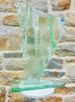 Design 20. sehr Große Skulptur Modernist -paste Glas Künstler zum identifizieren