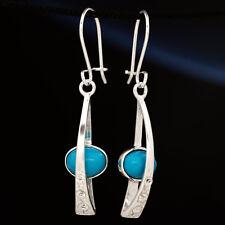 Türkis Silber 925 Ohrringe Damen Schmuck Sterlingsilber H319