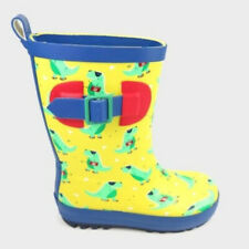 Sun Squad Toddler Waterproof Alligator Yellow Rain Garden Boots Large 9-10