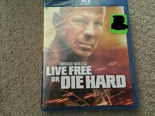 Live Free Or Die Hard (Blu-ray Disc, 2010) Brand New