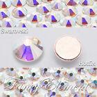 AB Clear (Hotfix) Swarovski Flatback Rhinestones ss3-ss48 Hot Fix Crystal Gems