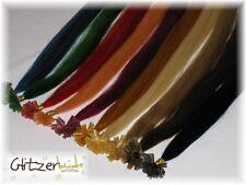 50 Premium Echhaarsträhnen, Haarverlängerung, Extensions # 65 cm, 0,8g  Farbwahl