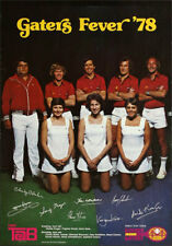 San Francisco Golden Gaters _RARE 1978 Team Tennis Poster  Tab (Coca-Cola) Promo