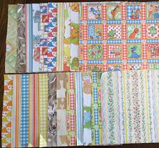 Lot Of 22 Jack & Jill Vintage Wallpaper Sheets (17) 17.5� X 14.5� (5) Assorted