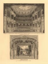 ROYALTY THEATRE, WELLCLOSE SQUARE. Whitechapel, London. Interior Proscenium 1834