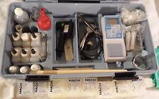 Hach Test Kit CEL/700 w/ Supplies. Water Test PH