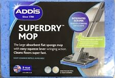 Addis Superdry Anti Bacterial Flat Cleaning Sponge Mop Refill Replacement Head