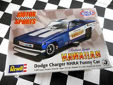"REVELL 1/25 DODGE CHARGER ""HAWAIIAN NHRA FUNNY CAR  PLASTIC MODEL KIT"