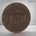 3D stl model  COAT OF ARMS basrellef FC Manchester united for cnc artcam aspire