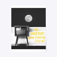 "Apollo 50th Anniversary Moon Landing Gift Poster - 18""x24"""