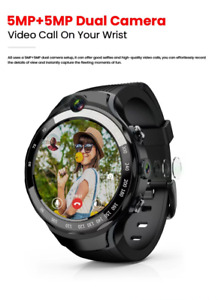 Android AMOLED GPS Smart Watch with DUAL Camera 2.0 MP Android & Google Store