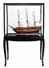 USS Constitution Old Ironsides Tall Ship Frigate Sailboat Wooden Assembled Model