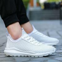 Men's Sport Light Weight Flexible Athletic Gym Running Shoes Sneakers Hot sale
