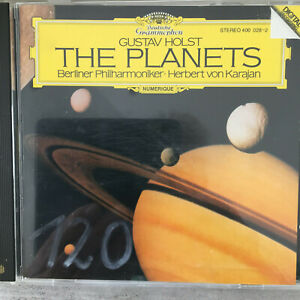 HOLST: The Planets - Berliner  / Karajan 1981 (CD DG 400 028-2 Stereo / neu)