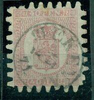 Finnland, Wappen, Nr. 9 c x gestempelt