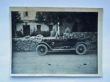 AUTO car automobile vecchia foto cartolina old photo 3 trieste Carso