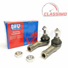 Track Tie Rod End Pair for RENAULT CLIO MK 2 & 3 - 2000 to 2013 - Quinton Hazell