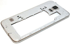 Original Samsung Galaxy S5 G900F Mittel Rahmen Mittelrahmen Gehäuse Silber