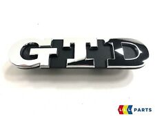 VOLKSWAGEN VW GOLF 7 VII NEW GENUINE GTD GRILL BADGE EMBLEM 5G0853679R