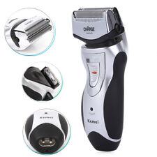 Men's Electric Shaver Rechargeable Razor Beard Hair Clipper Trimmer EU Plug New