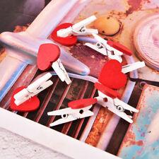 Paquete De 1 Mini Corazones De Madera Madera sin rematar discos de registro de artesanía para Bricolaje Craft N7 Rebanadas