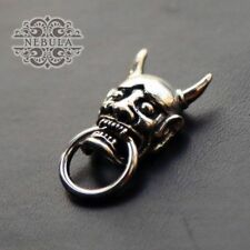 Handmade 般若 Evil Oni Noh Hannya BUDDHIST Mask Wallet Chain Connector