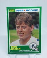 1989 Score #270 Troy Aikman HOF RC Rookie Card Dallas Cowboys