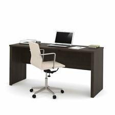 "Bestar Embassy 66"" x 24"" Desk Shell in Dark Chocolate"