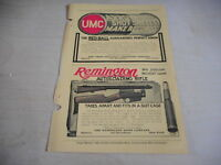 1907 MAGAZINE AD #A4-102 - UMC GUN SHELLS - REMINGTON RIFLE