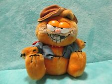 1981 Dakin Garfield - Hobo Homeless Drifter Bum Cat - Soft Plush Stuffed Toy 8""