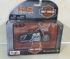 2012 MAISTO SEVENTY-TWO 1/18 SCALE SERIES 31 HARLEY DAVIDSON MOTORCYCLE NEW