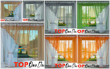 Voile Net Curtain Ready Made Modren Design Living Dining Room Bedroom Kitchen