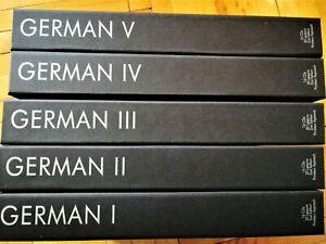 German Language Study Audio Course I, II, III, IV & V Gold 80 CD's Рimsleur