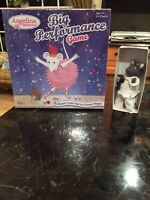 ANGELINA BALLERINA LITTLE GREY MOUSE In CLOWN OUTFIT W/BOX + NEW ANGELINA GAME