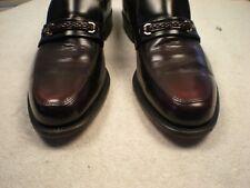 EXECUTIVE IMPERIAL Vtg Dark Oxblood Cordovan Made USA Slip On Loafer Sz 9.5 C