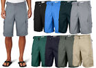 One Tough Brand Men's Cotton Twill Belted Cargo Shorts- Best Price!