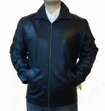 NEW GENUINE LAMB LEATHER COAT JACKET W/ WARM REMOVABLE LINING MADE IN TURKEY, M