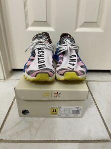 Adidas NMD Human Race Trail x Pharrell Solar Pack 2018 - BB9531 Size 11