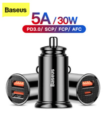 car charger usb fast charge Baseus 30W Quick Charge 4.0 3.0 free shipping